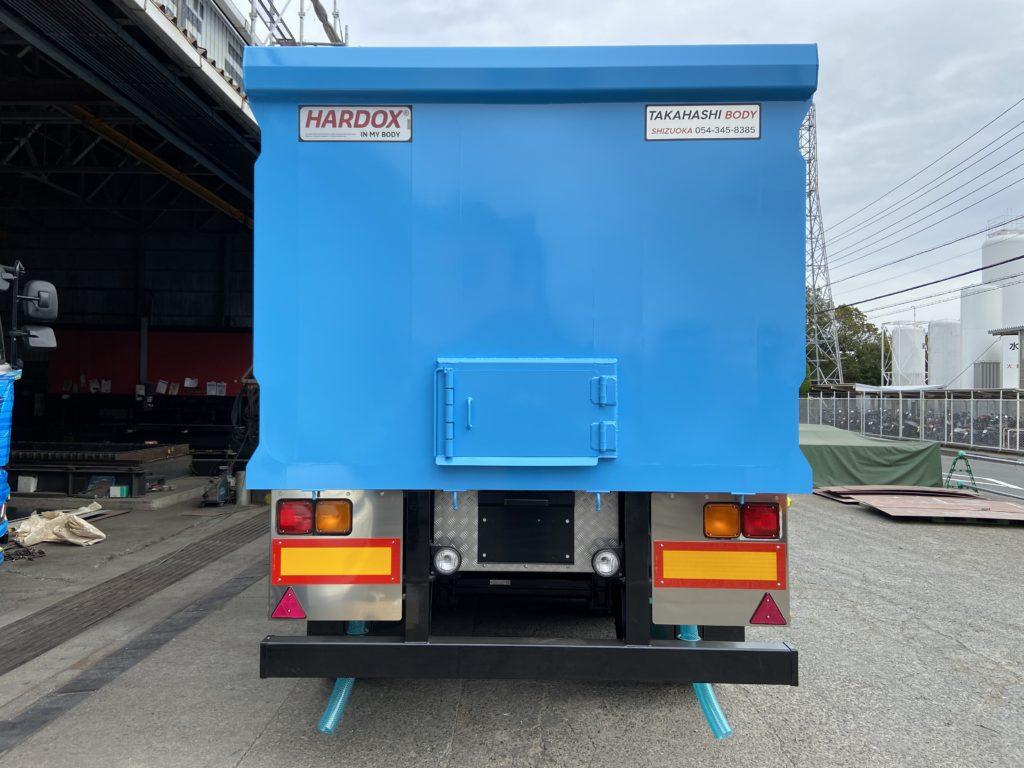 産業廃棄物運搬車輌